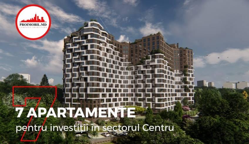 Șapte apartamente pentru investiții în Complexul locativ TESTEMIȚANU