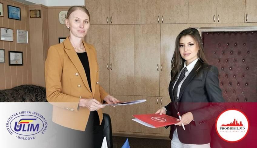 Proimobil a semnat un acord cu ULIM